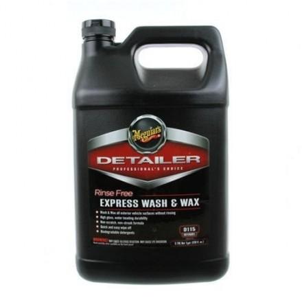 Meguiar's Rinse Free Express Wash & Wax 3,78L
