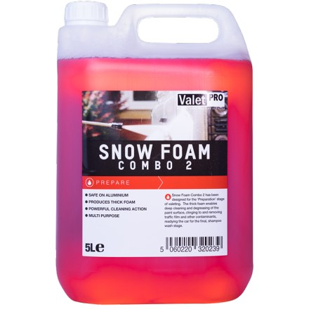 Valetpro snow foam